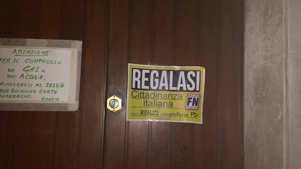 Forza nuova regalasi cittadinanza italiana for Regalasi cucina