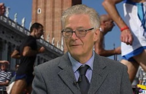 Stefano Fornasier e la Venicemarathon