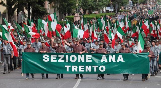 A Treviso l'adunata nazionale degli Alpini del 2017