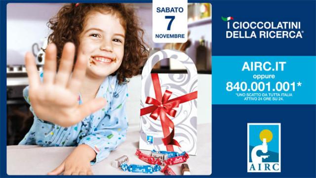 """""""I Cioccolatini della Ricerca"""" di AIRC"""