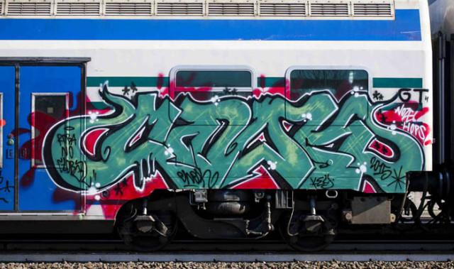 Fermati writers minorenni responsabili di danneggiamento dei convogli ferroviari