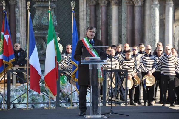 Funerali di Valeria Solesin, il discorso integrale del sindaco Luigi Brugnaro