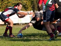 Il Mirano Rugby domina l'incontro contro la Bassa Bresciana Leno