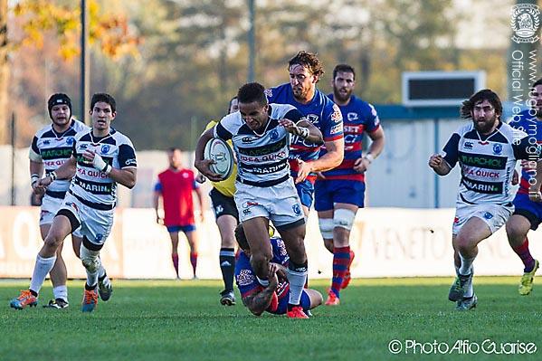 Il Mogliano Rugby vince il match con Rovigo