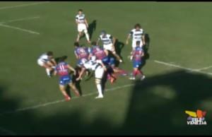 Rugby- Il Mogliano vince contro il Rovigo