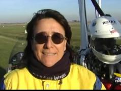 Donatella Ricci, pilota ed istruttrice di volo, parla del suo record