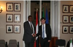 Vice ministro Oliviero incontra ministro dell'agricoltura della repubblica del Sudan