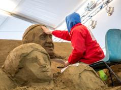 presepe di sabbia Sand Nativity
