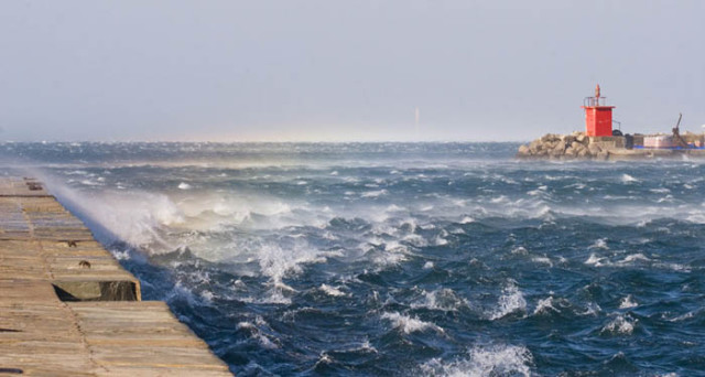 bora sull'Adriatico