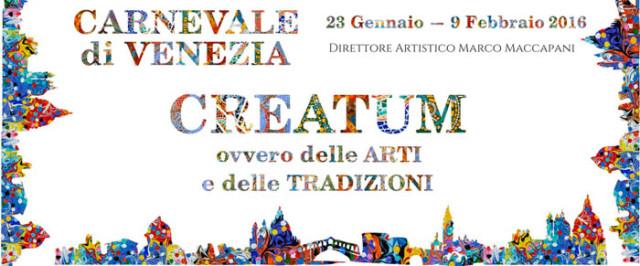 programma del Carnevale di Venezia