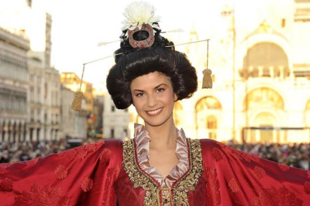 volo dell'Angelo del Carnevale di Venezia