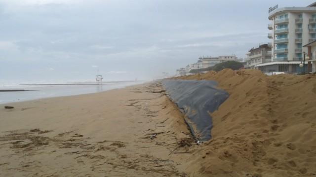Mareggiate e rinascimento spiagge