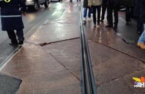 tram a Piazzale Roma