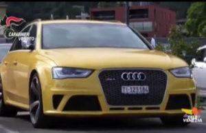 Audi Gialla