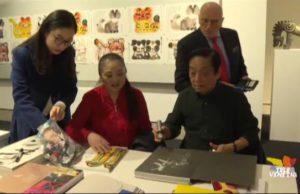 mostra cinese Han Meilin