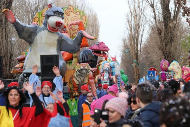 Carnevale a Mestre