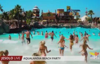 aqualandia beach party