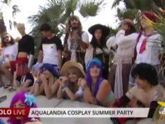 Aqualandia Cosplayer Summer Party