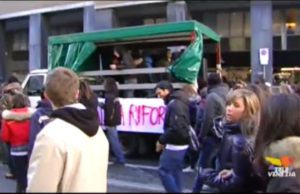 manifestazione studenti