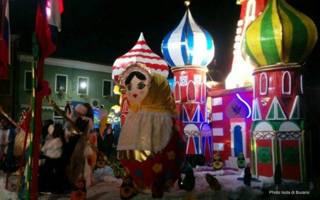 Programma del Carnevale di Burano 2018