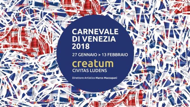 Risultati immagini per carnevale venezia 2018 poster
