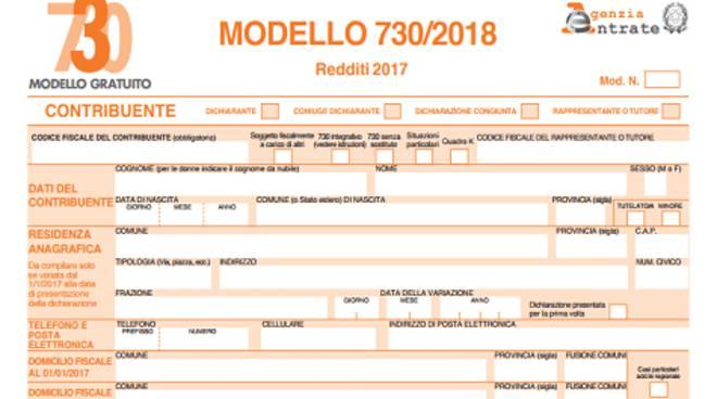 Il Modello 730 Del 2018, Che Sarà Disponibile On Line   In Versione  Precompilata   A Partire Da Lunedì 16 Aprile.