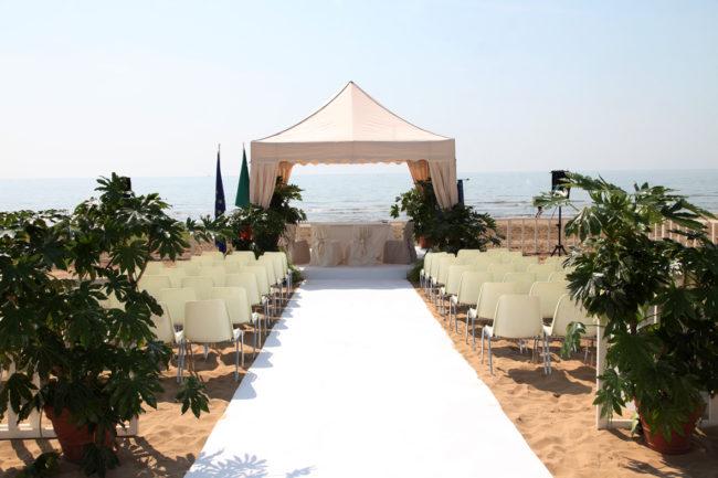 Location Matrimoni Spiaggia Jesolo : Jesolo si prepara ad una nuova stagione di matrimoni in