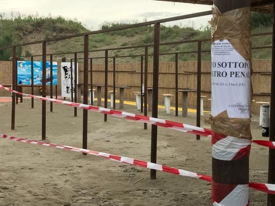 Sotto sequestro la spiaggia di playa punta canna di - Bagno punta canna sottomarina ...