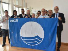 Consegnata la Bandiera Blu 2018 agli stabilimenti balneari del Lido