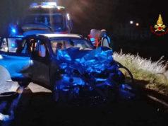 Incidente tra tre auto a Musile di Piave