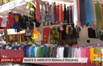Nasce a Jesolo il mercato rionale italiano