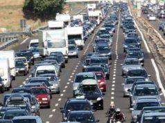 Possibilità di traffico sostenuto nelle autostrade durante il weekend