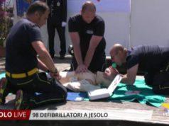 98 defibrillatori a Jesolo: una città cardioprotetta