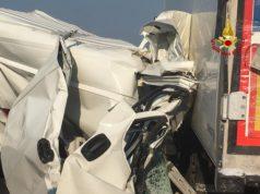 Incidente tra camion e furgone tra Portogruaro e Latisana