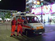 Vacanze sicure: sino a fine agosto ogni venerdì e sabato un'ambulanza sarà in Piazza Mazzini