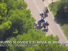 Drone insegue gli abusivi a Bibione: sequestrata merce per 25 mila euro