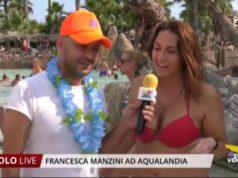 Francesca Manzini ospite ad Aqualandia