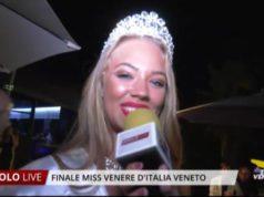 Giulia Pintilie è Miss Venere d'Italia Veneto