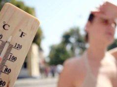 Ondata di calore: domani ancora disagio intenso
