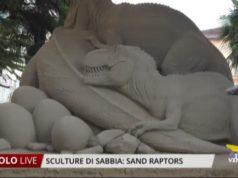 Sculture di Sabbia a Jesolo: Sand Raptors