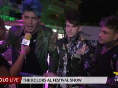 The Kolors al Festival Show a Jesolo
