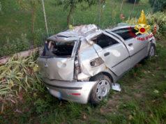 Torre di Mosto: auto finisce nel fossato, morta una bambina