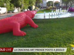 La Cracking Art prende posto a Jesolo