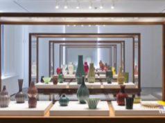 La Pelle del Vetro: mostra al negozio Olivetti