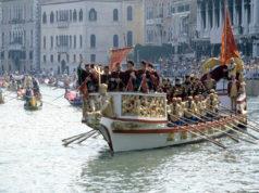 Regata storica di Venezia con Genova nel cuore