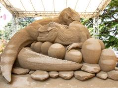 """Sculture di Sabbia: ieri la chiusura del Festival """"Sand Raptors"""""""