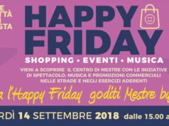 Venerdì nelle strade di Mestre torna Happy Friday
