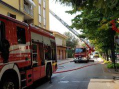 A fuoco una mansarda a Mogliano Veneto: salvati due anziani