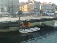 Cedimento sul ponte girevole di Chioggia: è scattato l'allarme