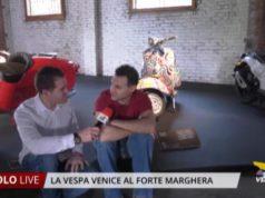 La Vespa Venice di Luca Moretto a Forte Marghera